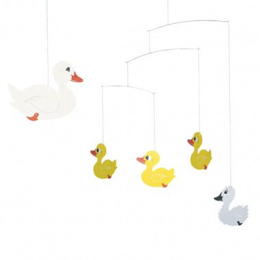 The ugly duckling mobile R275 This fairy tale comes to life with this mobile depicting the ugly duckling.