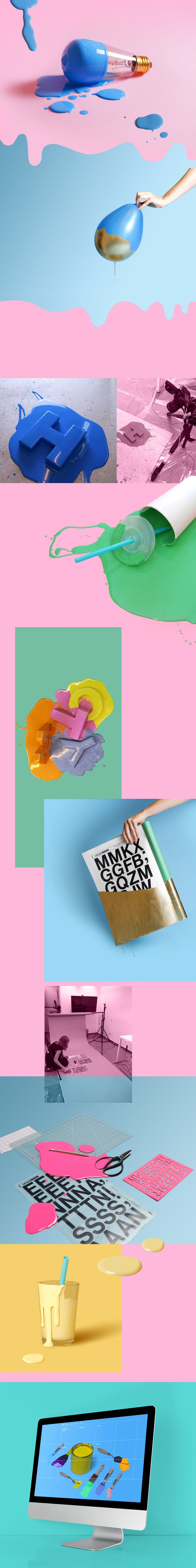 A series of images that we art directed and produced especially for the Online Design Library at Wix.com We had a lot of fun splashing around in Color and dipping things in paint.  Contributers: Orly Kiryati, Yamit Hadad, Dafna Tamir & Alan Tzatzkin