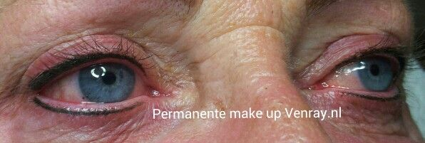 Boven & onder eyeliner door Nathalie Salarbux-Rozema, permanente make-up Venray.nl