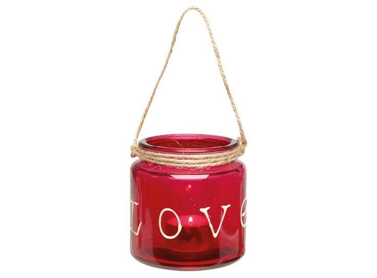 Leuk als cadeau, leuk voor bij een romantisch diner... Met deze romantische theelichthouder is jouw valentijnsdag bij voorbaat al geslaagd!