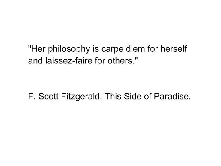 this side of paradise quotes - Google Search