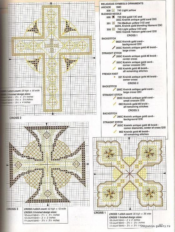 Punto de cruz religioso on Pinterest | Punto De Cruz, Punto Cruz ...