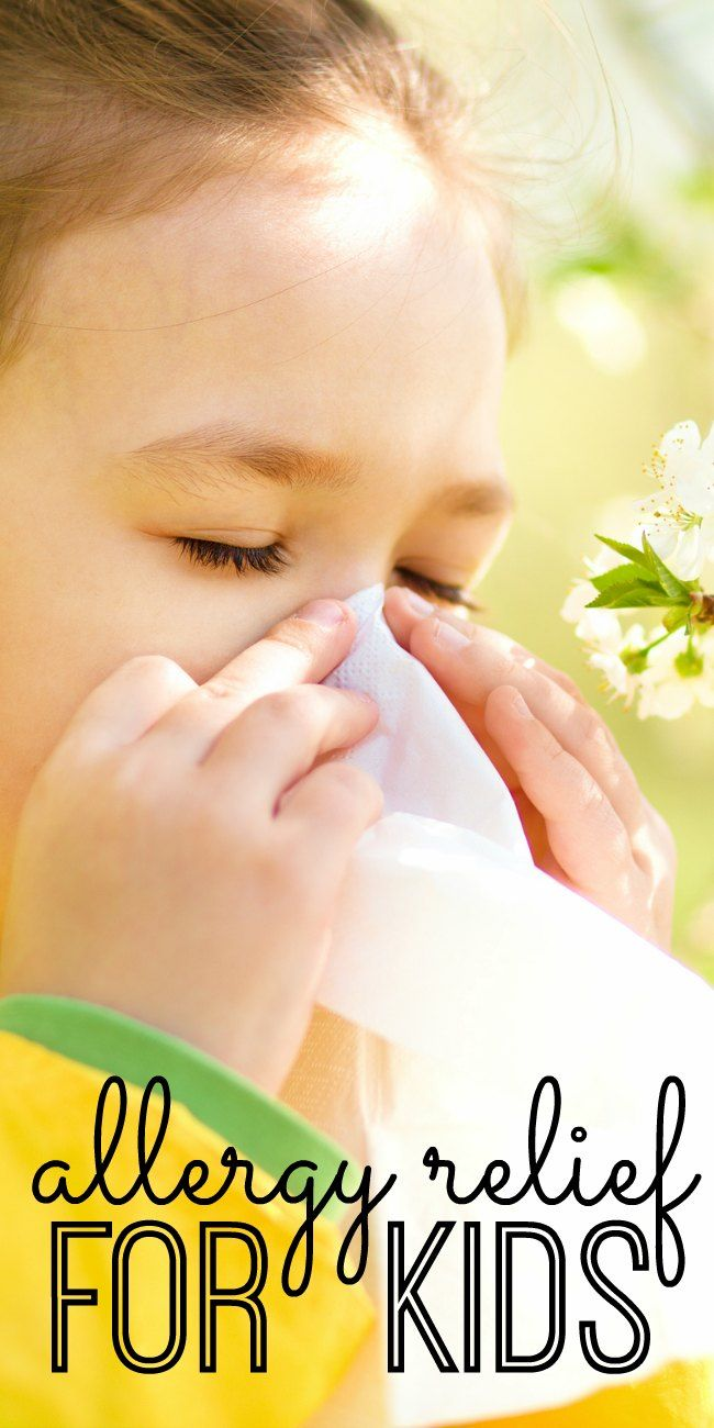 After years of battling seasonal allergies with my kids, I'm sharing my tried and true tips for finding allergy relief for kids. Spring and fall allergies can be brutal, and these are the allergy remedies that work for us! (Especially #2 and #3!)