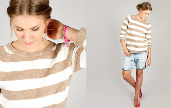 TINTIN Style – This weeks bargain! Top from Lexington and shorts from Dondup, shoes from Hunter.