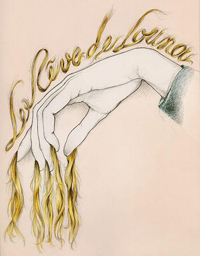 Illustration mode main et cheveux Florence Gendre