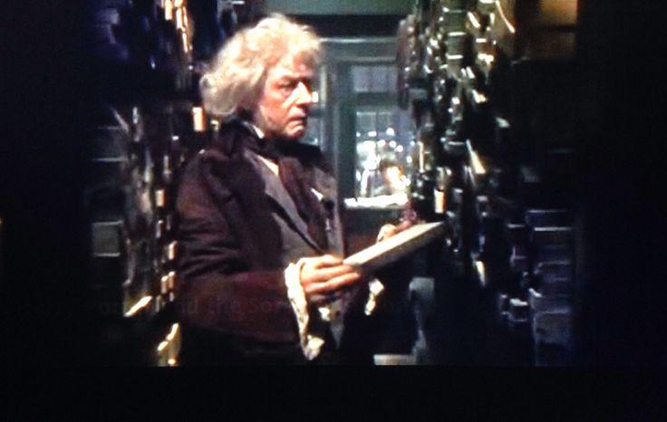 """Sorcerer's Stone - """"I wonder."""" Mr. Olivander"""
