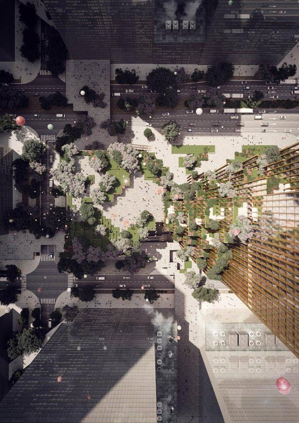 Hengli International Headquarters Mecanoo Archinect Skyscraper Amazing Architecture Landscape Design