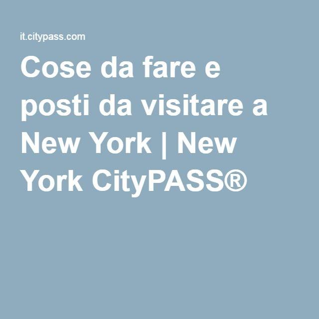 Cose da fare e posti da visitare a New York | New York CityPASS®