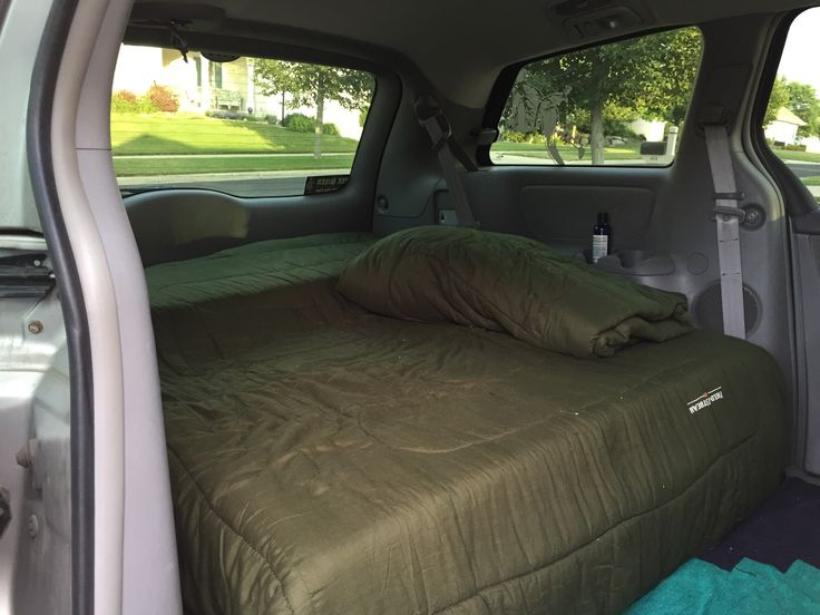 Toyota Sienna Mini Camper Van - Imgur