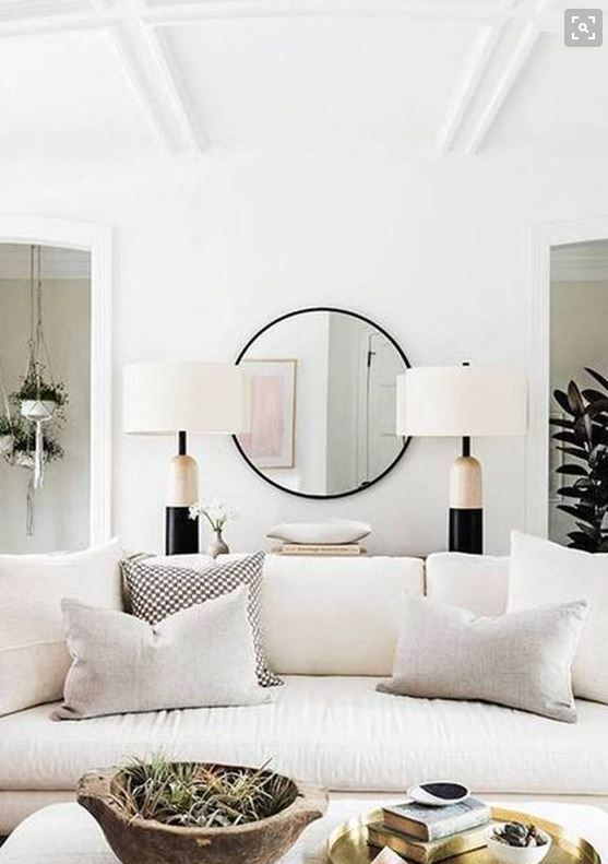 White Living Rooms, Living Spaces, Interior Ideas, Family Rooms, Home  Ideas, Future House, Porn, Minimalist, Polish