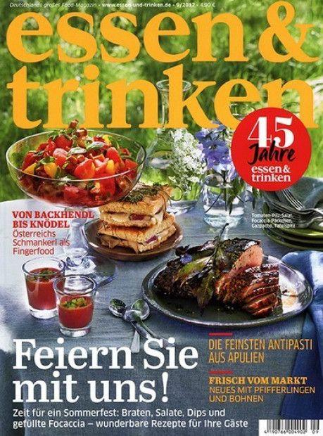 Unique Deine lieblings Zeitschrift zum Thema Essen u Trinken im Abo mit Praemie bei uns erhaeltlich