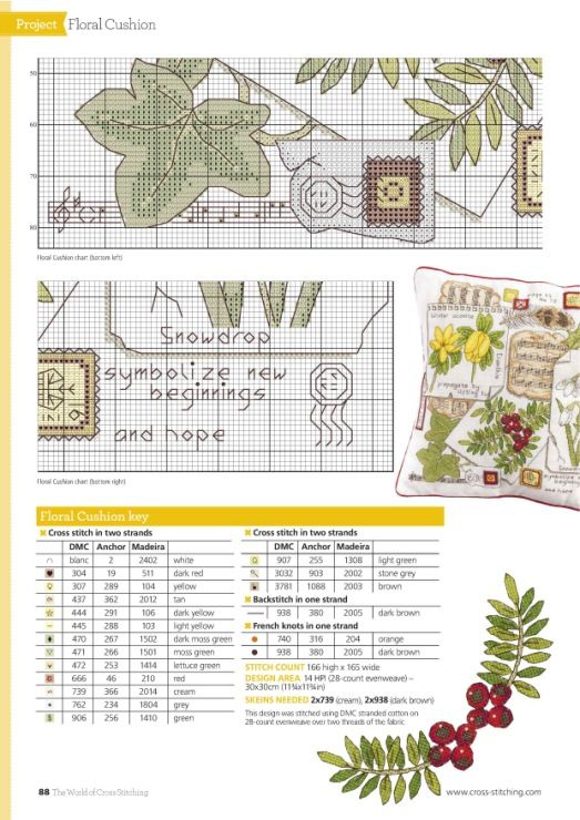 Gallery.ru / Фото #77 - The World of Cross Stitching -Special Christmas 2015 - tymannost