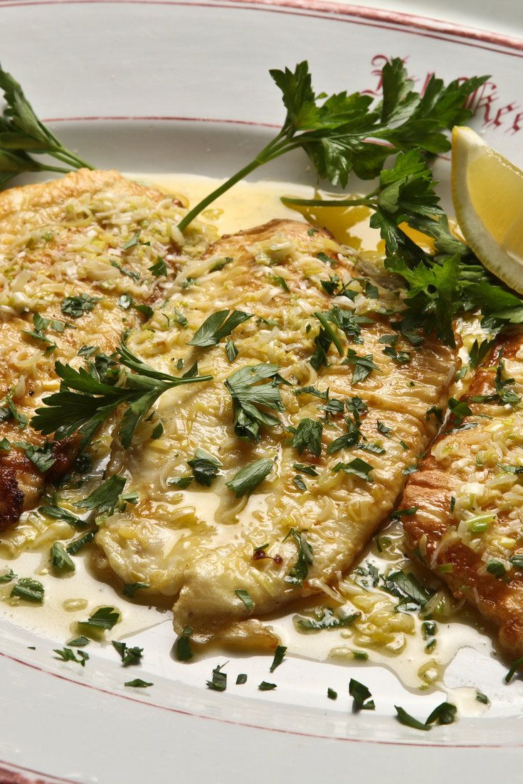 NYT Cooking: For savory, moist, delicate flounder, it is difficult to beat this fast, easy method. Lightly coat the fillets in flour, then dip them in a mixture of beaten egg and milk. Slide them into a hot skillet filled with oil to a 1/4-inch depth and let them fry until golden, a mere two minutes or so per side, without jostling them around too much. Serve with a sauce of green garlic cooked in butter, with the juice of half a lemon providing a jaunty, bright finish. A sprinkling of…