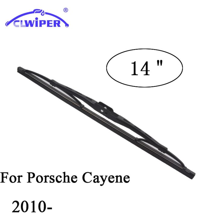 "Wiper Blades For PORSCHE CAYENNE(2010-) 2011 2012 2013 2014 15 Rear Car Windscreen Wiper Windshield Wiper Blade 14"" Cars styling"