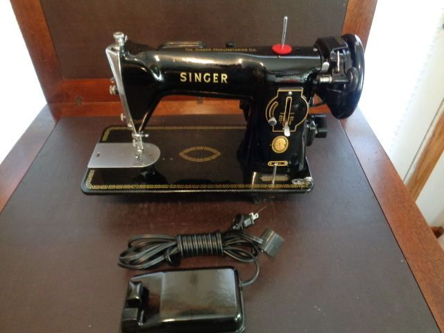 HEAVY DUTY SINGER SEWING MACHINE 40 HEAVY DUTY NICE ONLY ONE ON EBAY Classy Ebay Singer Sewing Machine