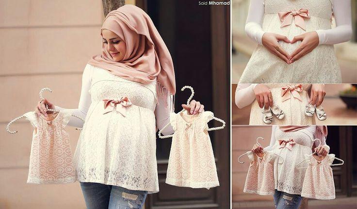 #hijab#pregnant#cute#pink