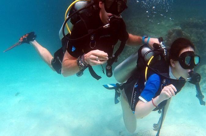 Half-Day PADI Discover Scuba Diving from Koh Phi Phi  #PrivateTours #CityTours #Thingstodo #Activities #Tours #Thailand #Krabi #PADI #Diving #KohPhiphi