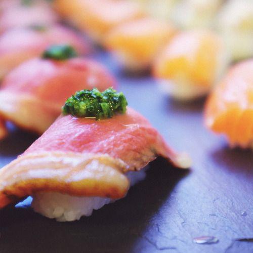 Sous vide wagyu steak nigiri recipe | Nomiku