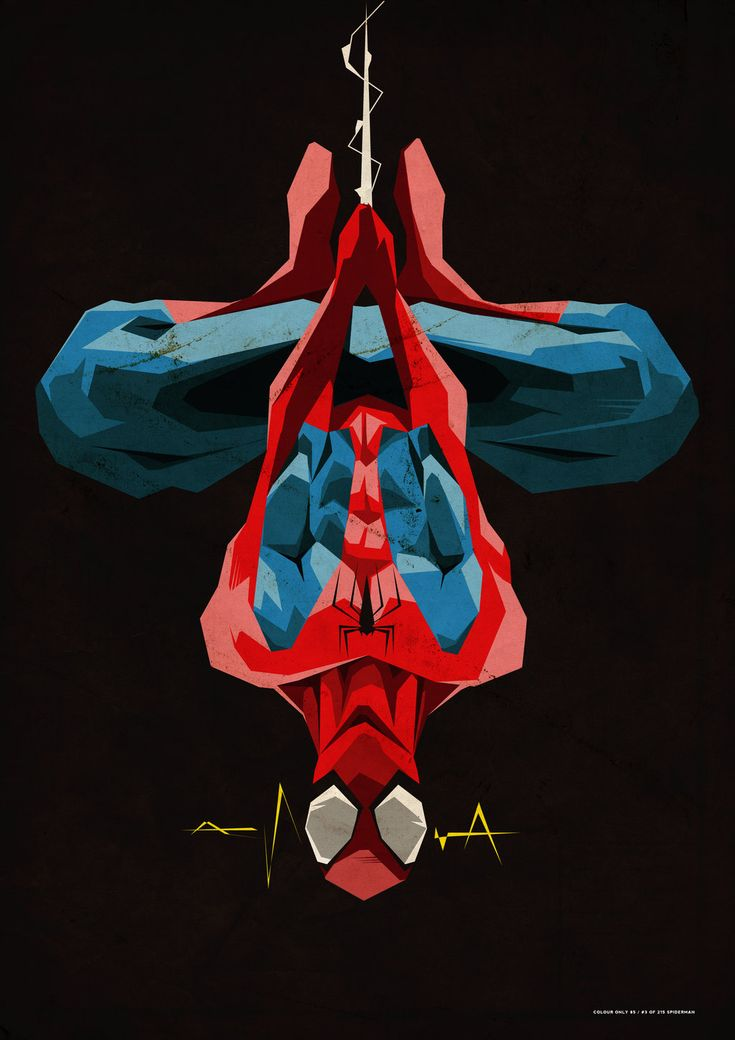 "geeksngamers: "" Spiderman - by ColourOnly85 """