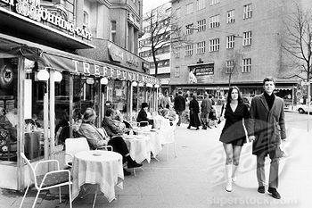 Cafe Möhring, Kudamm, 1970er  #Berlin #Westberlin