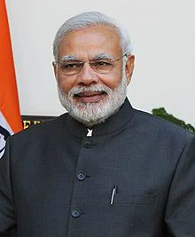 Narendra Modi  Premier Ministtre depuis 2014