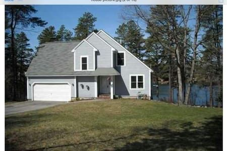 Check out this awesome listing on Airbnb: Waterfront Fresh Spring Fed Lake! - Houses for Rent in Limington - Get $25 credit with Airbnb if you sign up with this link http://www.airbnb.com/c/groberts22