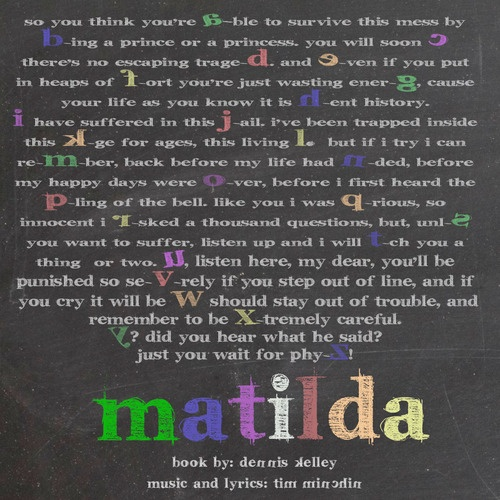 So cool! School Song from Matilda the Musical!
