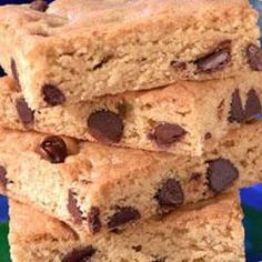 Toll House(R) Blonde Brownies Allrecipes.com
