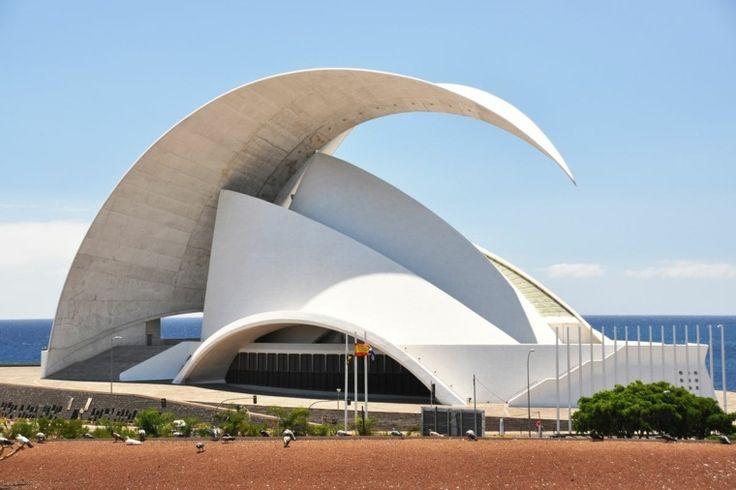 architecture contemporaine Auditorio Tenerife