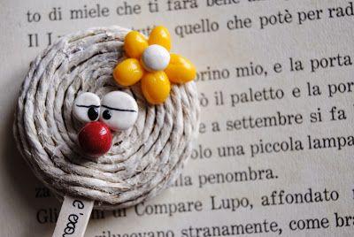 "Segnalibro "" Clown"""