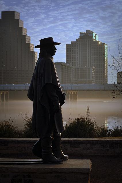 Austin, TX - Stevie Ray Vaughn tribute