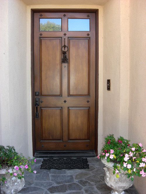25 best ideas about faux wood paint on pinterest faux for Faux wood front doors
