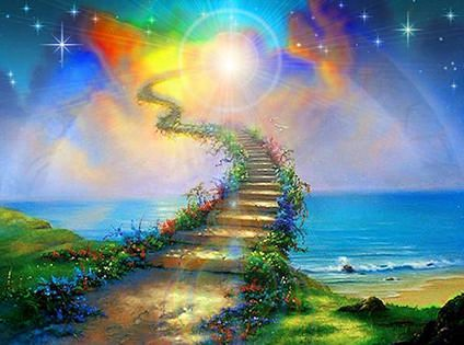 Flower Stairway to Heaven