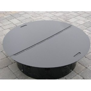 $139 Round Steel Fire Pit Cover / Snuffer