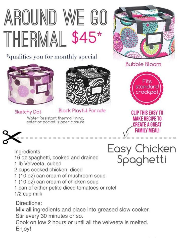 Thirty One Gifts Try The Around We Go Thermal Great For