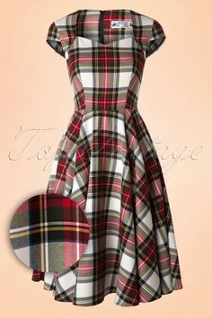 Bunny Aberdeen Tartan Swing Dress 102 59 16755 20151021 0007W1