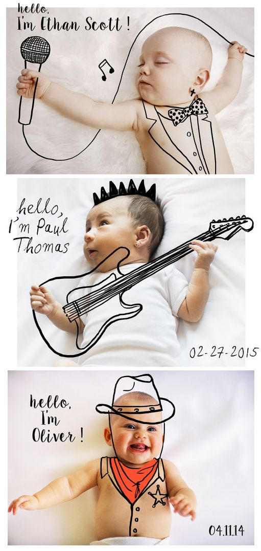 29 best Announce Your Baby News images – Fun Baby Announcement