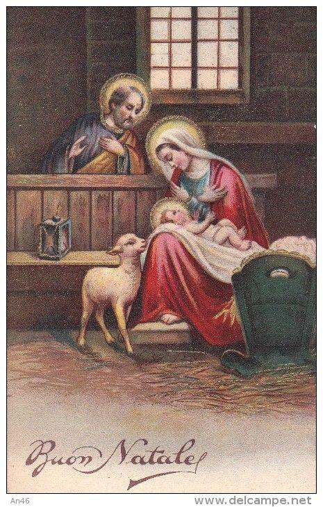 Buon Natale Originale.Buon Natale Bonne Noel Merry Christmas Vg 1940 Originale D Epoca