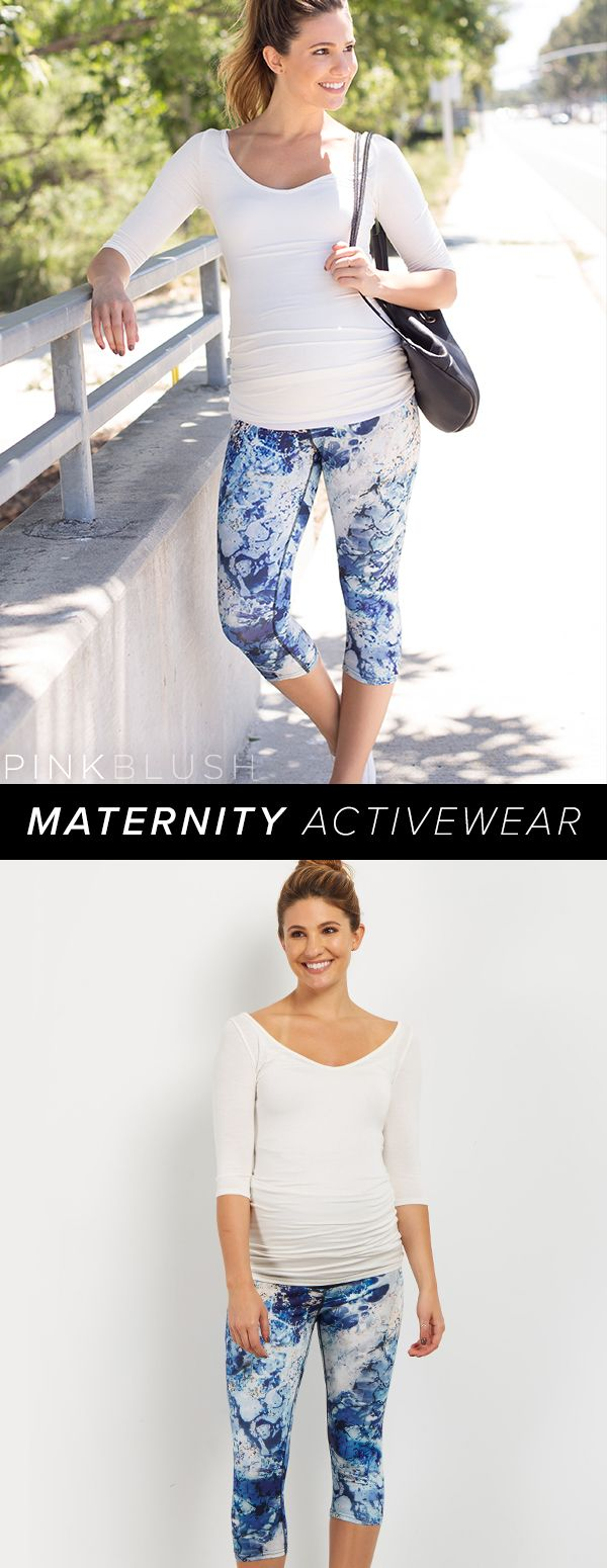 Maternity Activewear that is not only comfortable, but stylish!