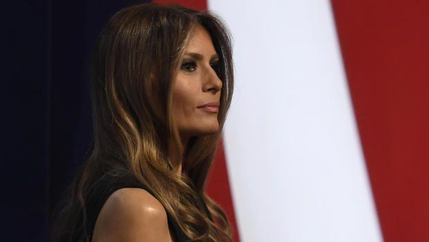 dressmaker urges industry to refuse to dress Melania Trump - CBS information #news #fashion