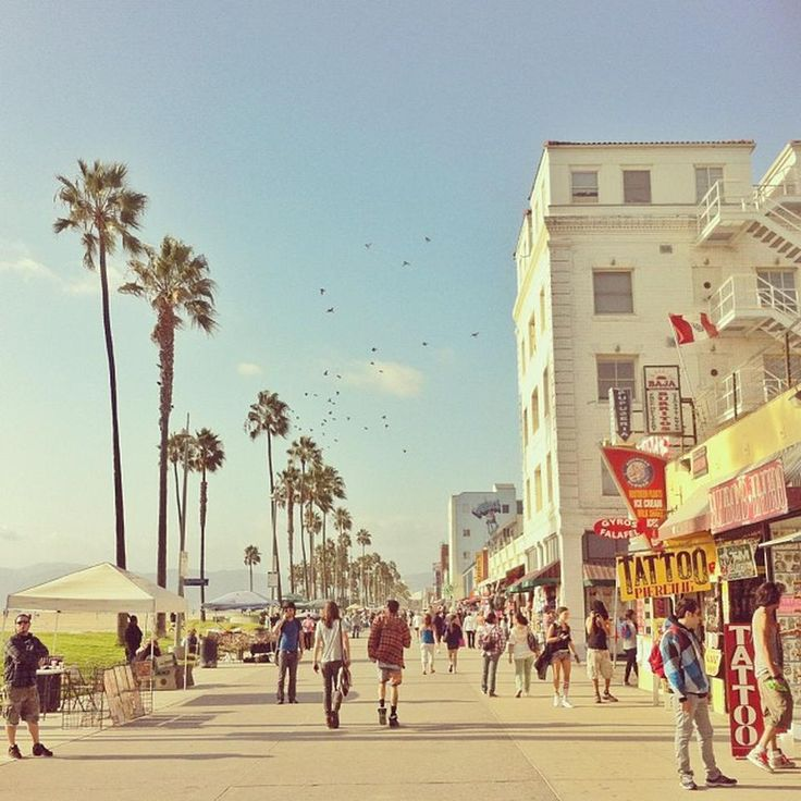 Venice Beach Boardwalk.. Always take out  of town guest here.. Crazy town
