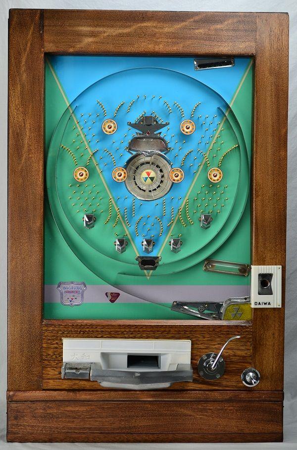 Vintage Arcade Games >> 1950's Daiwa Victory [REST-1518] - $2,400.00 : Pachinko ...