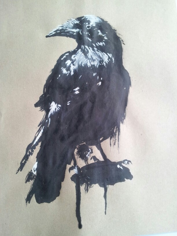230 best Crow . Raven images on Pinterest | Crows ravens ...
