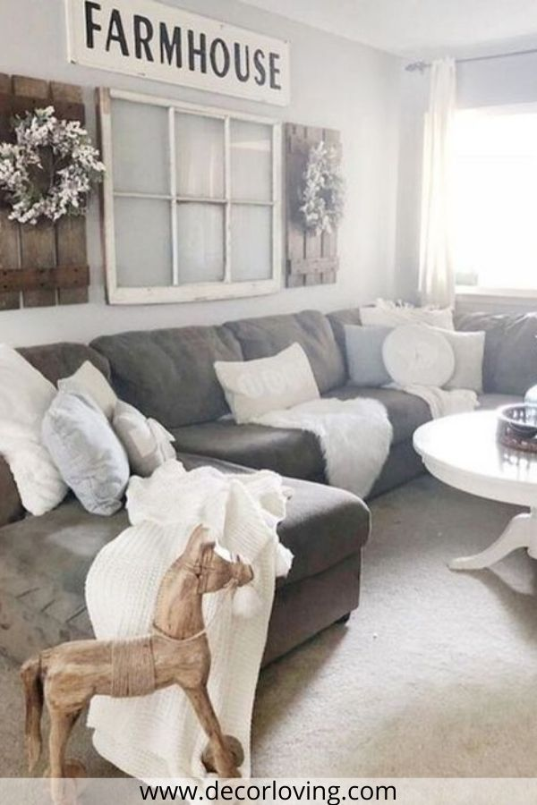 21 Fantastic Farmhouse Living Room Decor Ideas On A Budget You Must Try In 2020 Farm House Living Room Farmhouse Decor Living Room Rustic Farmhouse Living Room