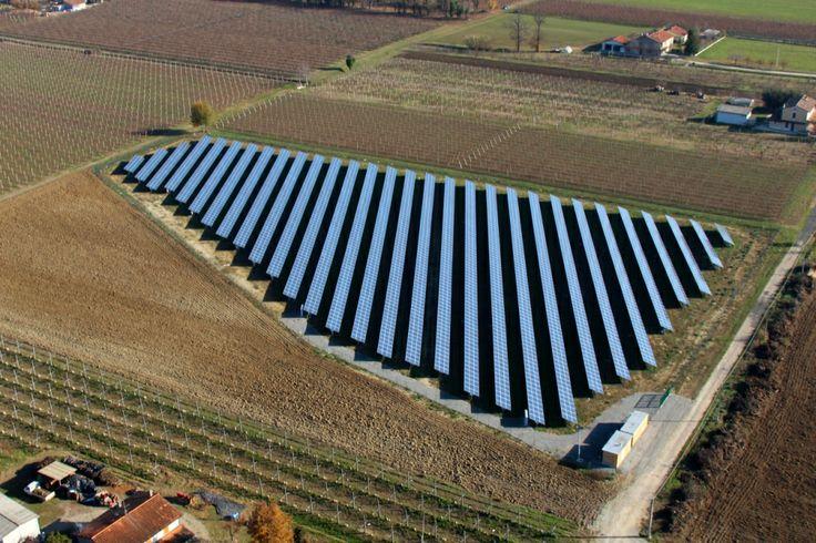 A 1 Mw solar park in Italy