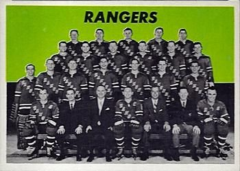 1965-66 Topps Hockey 127 New York Rangers Hockey Card