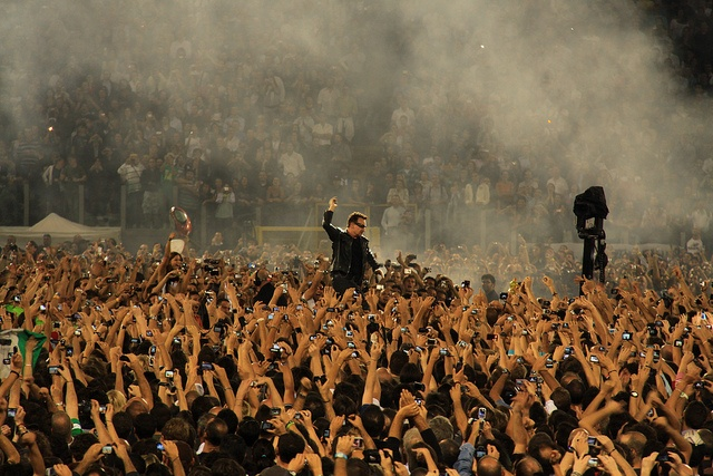 BONO VOX WITH HIS PEOPLE by cristiandc75, via Flickr