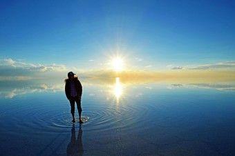 ウユニ塩湖/