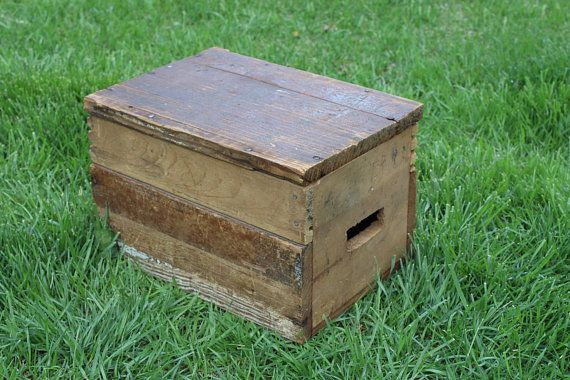 Prime Beautiful Vintage Wooden Crate Box Stool Seat 14 X 10 Caraccident5 Cool Chair Designs And Ideas Caraccident5Info