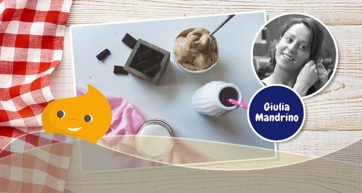 La ricetta della stracciatella di gelato vegana della foodblogger Giulia Mandrino #ricetta #gelato #vegano #vegan #food #foodblogger #truvìa #eridania #dolcificante #stevia